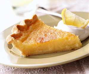 Triple Lemon Pie