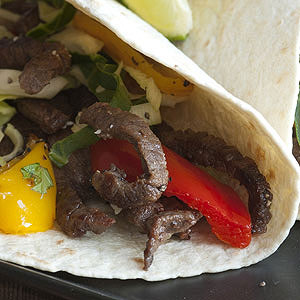 Beef Fajitas with Peppers