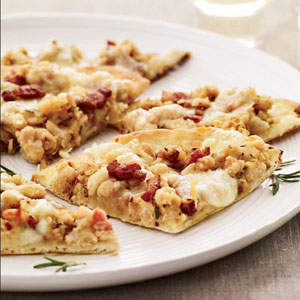 White-Bean-and-Pancetta Pizza