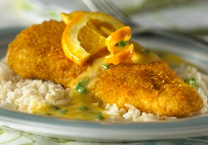 Orange Chicken Picatta