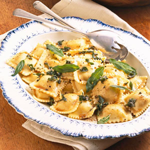 Ravioli With Sage Butter