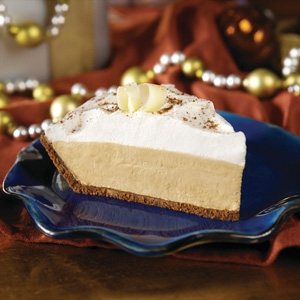 Five Minute White Chocolate Hazelnut Pie