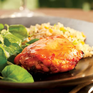 Lime-Honey Glazed Chicken