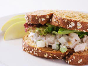 Roast Chicken Salad Sandwich