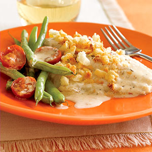Creamy Fish Fillets