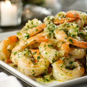 Shrimp in Sherry-Garlic Sauce