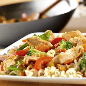 Chunky Chicken Stir-Fry