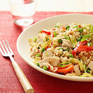 Chinese Pork Fried Rice
