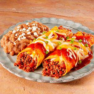 Beef Enchiladas Rancheras