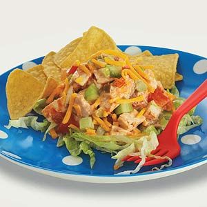 Salsa Chicken Salad
