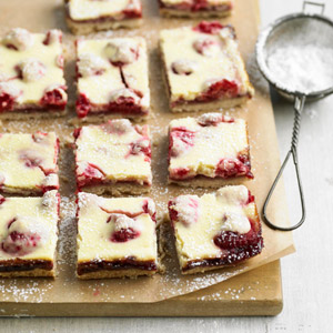Fresh Raspberry Bars