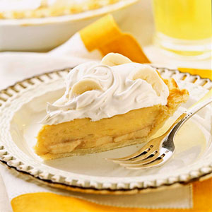 Sweet Banana Cream Pie