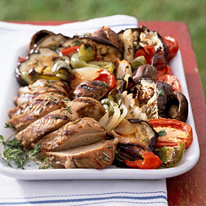 Grilled Summer Vegetable Salad