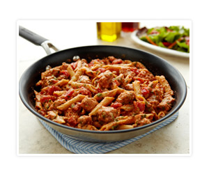 Skillet Ziti with Ground Pork
