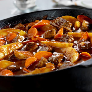 Homestyle Beef Stew for a Crowd