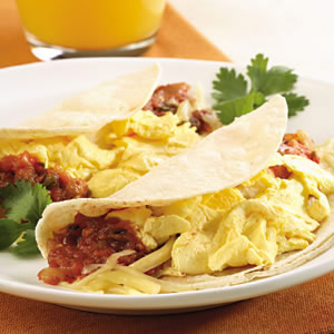 Quick Breakfast Taco