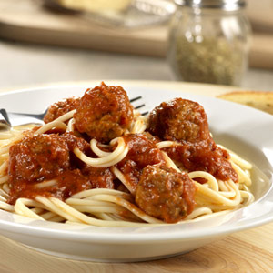 Quick Spaghetti and Meatballs
