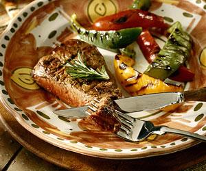 Herb-Pepper Sirloin Steak