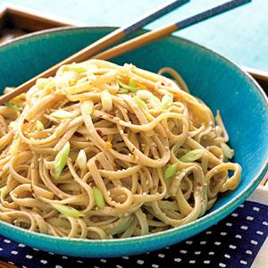 Peanut-Sesame Noodles