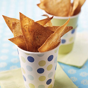 Crispy Parmesan Chips