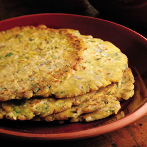 Griddle-Cooked Corn Flatbread