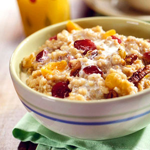 Fruited Irish Oatmeal