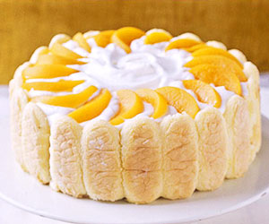 Fruited Orange-striped Pound Cake