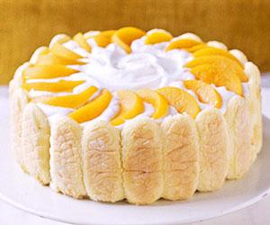 Fruited Orange-Striped Pound Cake