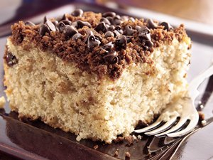 Chocolate Streusel Coffee Cake