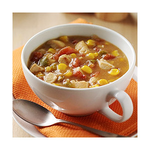Zesty Chicken Corn Chowder