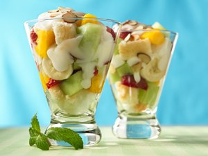Angel-Fruit Parfaits