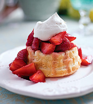 Strawberry-Lavender Shortcake