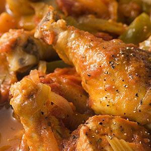 Cajun Chicken with Okra