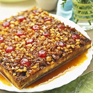 Macadamia Upside-Down Cake