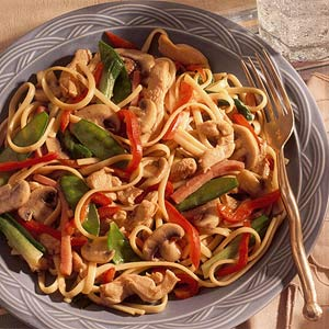 Garlic-Chicken Stir-Fry