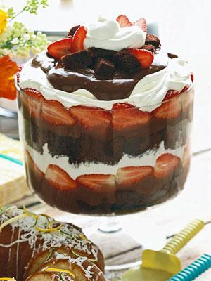 Chocolate Strawberry Shortcake