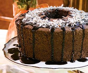 Chocolate Angel-Food Cake
