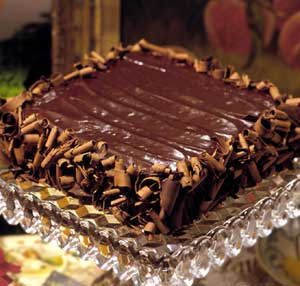Double Chocolate-Orange Torte