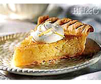 Apple and Lemon Chess Pie