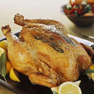 Savory Roasted Chicken & Gravy