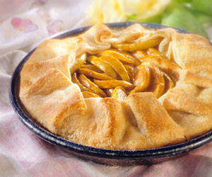 No-Peel Apple Pie