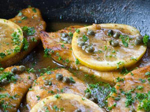 Lemon Chicken Scaloppini