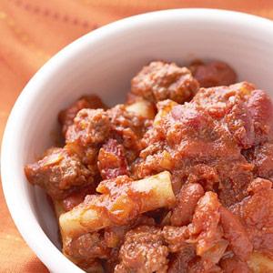 Cincinnati-Style Chili Casserole