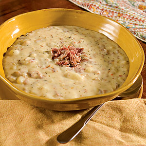 Country-Ham Potato Soup