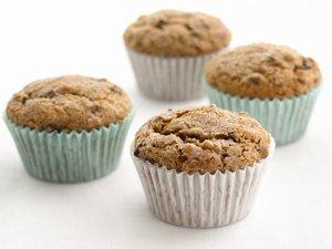 """Healthified"" Banana-Chocolate Chip Muffins"