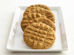 """Healthified"" Peanut Butter Cookies"
