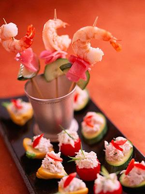 Oriental Shrimp Kabobs