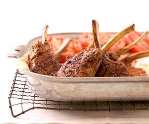 Garlic-Chili-Rubbed Lamb