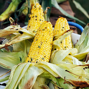 Grilled Herb Corn on the Cob