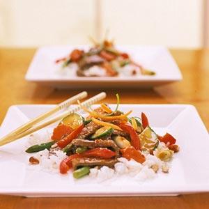 Thai Beef Stir-Fry